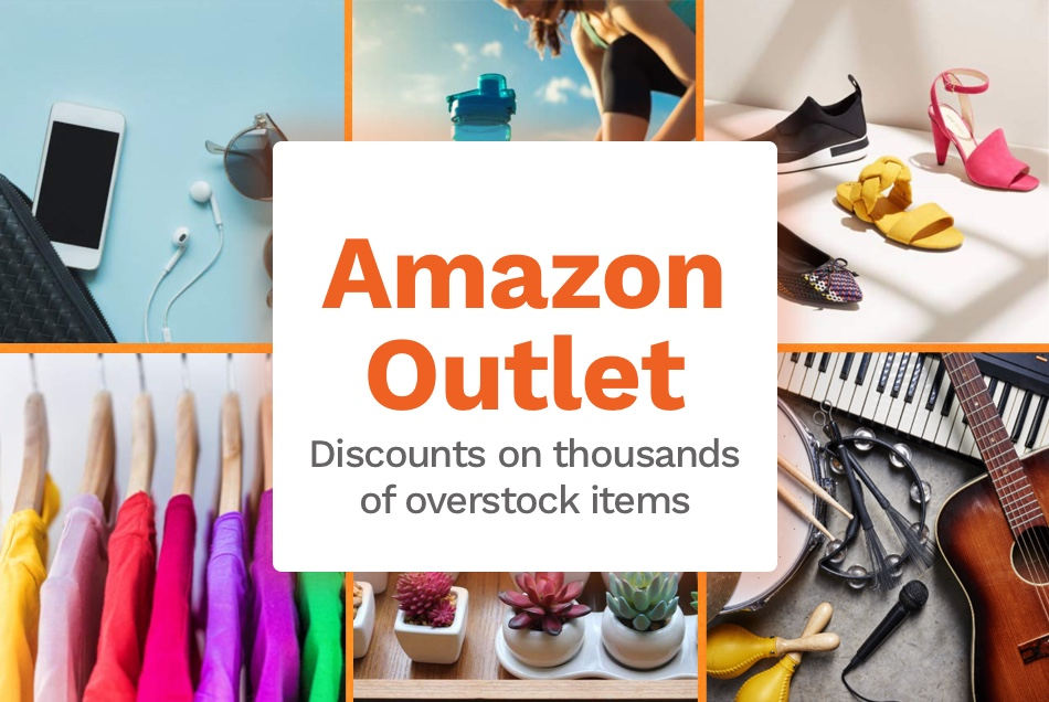 Amazon has an Outlet??